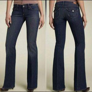 Paige Pico low rise bootcut jeans Size 24